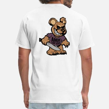 Amok BSK Amok bear front - Men's T-Shirt