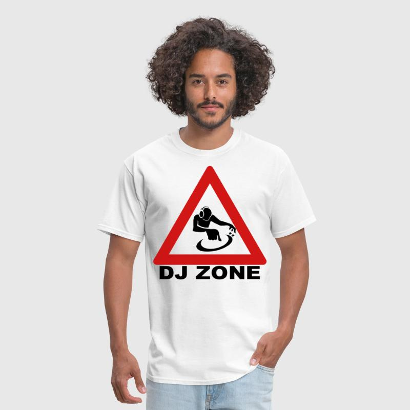 DJ Zone Coloured Design - Men's T-Shirt
