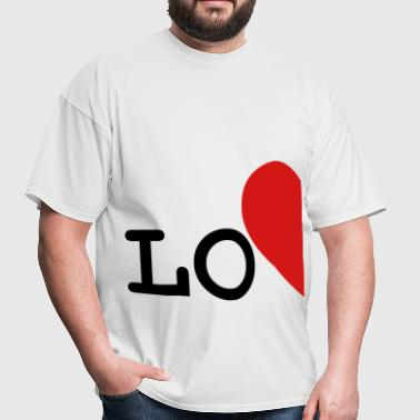 love_left_side for couples only - Men's T-Shirt