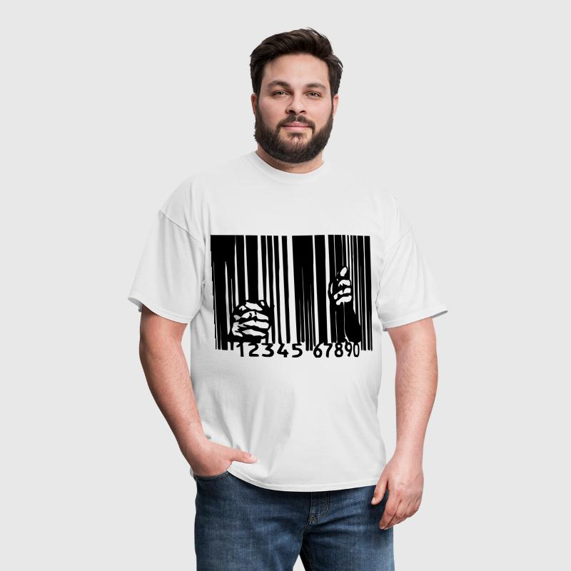 Barcode Prison - Men's T-Shirt