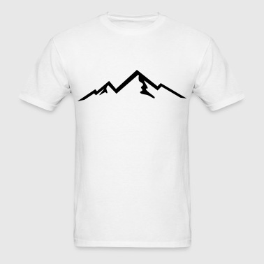 Mountain, mountains - Men's T-Shirt