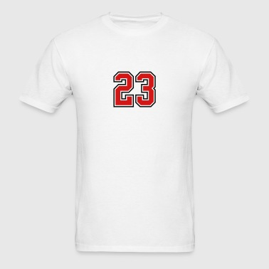 23 sports jersey football number - Men's T-Shirt
