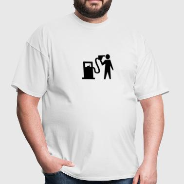 Banksy Petrol Head - Men's T-Shirt