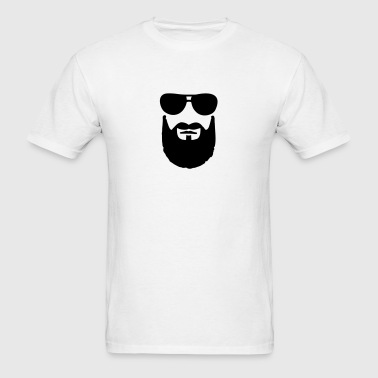Beard Sunglasses - Men's T-Shirt