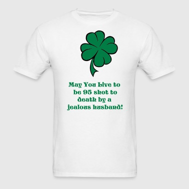 Four Leaf Clover - Men's T-Shirt