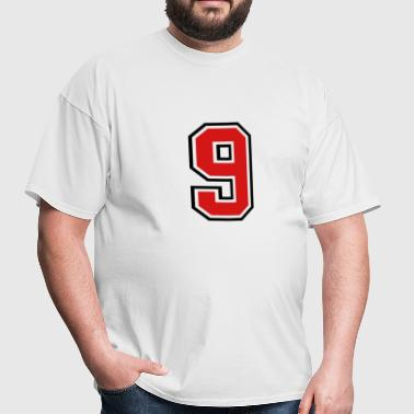 3955797 15268492 sports jersey number 9  - Men's T-Shirt