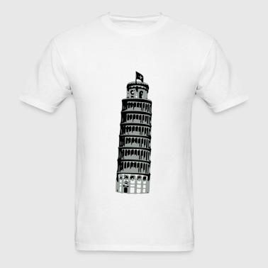 Leaning Tower Of Pisa - Men's T-Shirt
