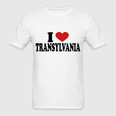 I Love Transylvania - Men's T-Shirt