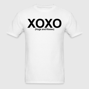 XOXO (Hugs and Kisses) - Men's T-Shirt