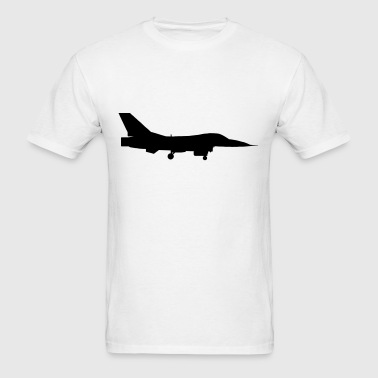 airplane aircraft fighter jet - Men's T-Shirt