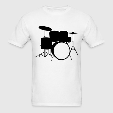 Drum Kit - Men's T-Shirt