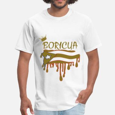 Boricuas Boricua - Men's T-Shirt