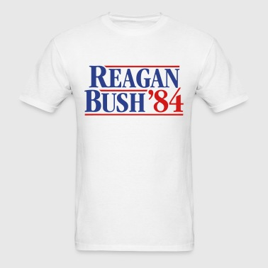 Reagan - Bush '84 campaign - Men's T-Shirt