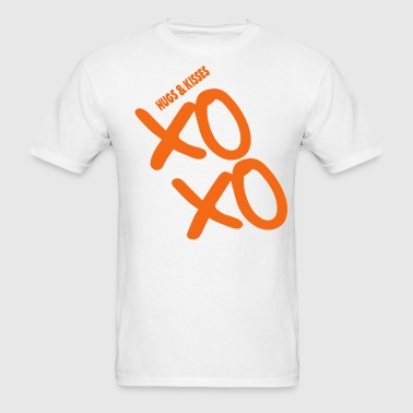 XOXO HUGS AND KISSES - Men's T-Shirt
