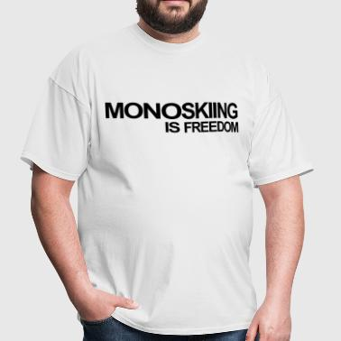 MONOSKI,MONO SKIING,WATER,WATER,SKI,wakeboard - Men's T-Shirt