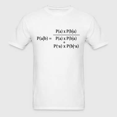 Ash Bayes Theorem - Men's T-Shirt