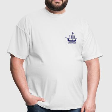 Huntington Harbour Boat - Men's T-Shirt
