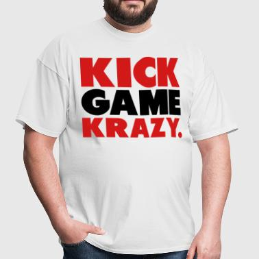 Kick Game Krazy - Men's T-Shirt