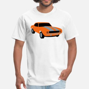 Army Star Sports Cool Sports Car - Men's T-Shirt