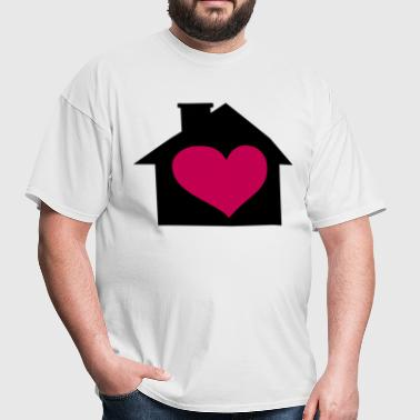 Love House Music - Men's T-Shirt