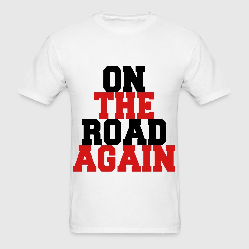 On the Road Again - Men's T-Shirt