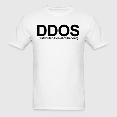 DDOS (Distributed Denial of Service) - Men's T-Shirt