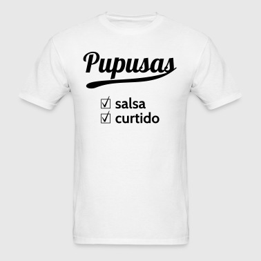Pupusas Salsa Curtido - Men's T-Shirt