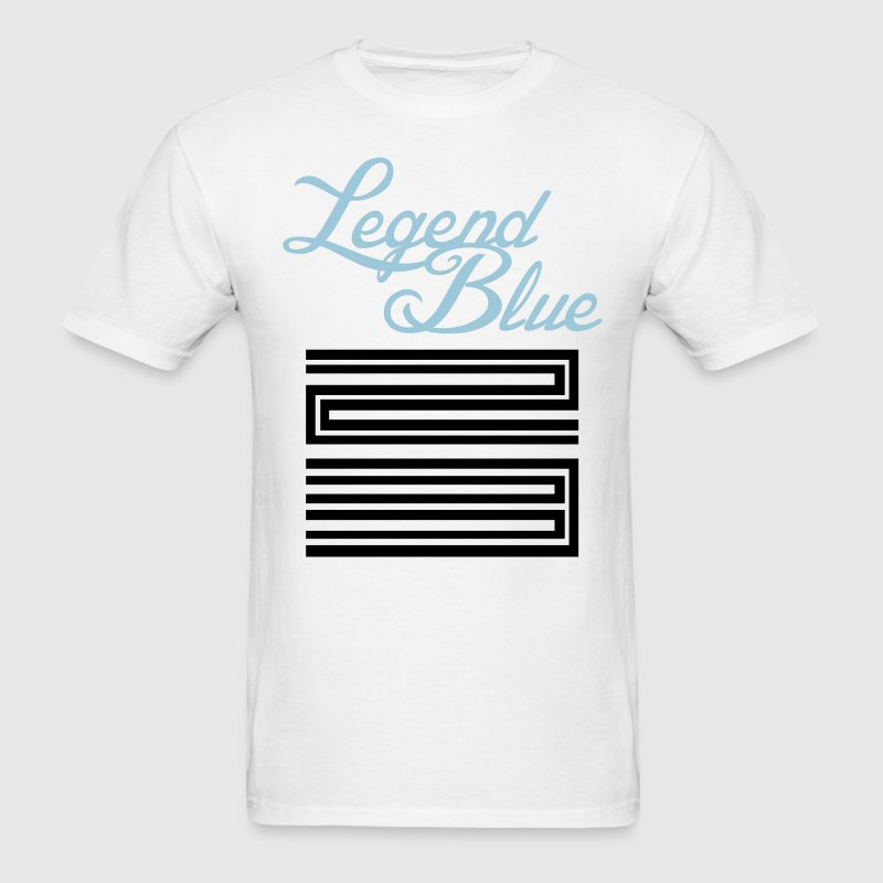 Retro 11 Legend Blue Jordan Shirt - Men's T-Shirt