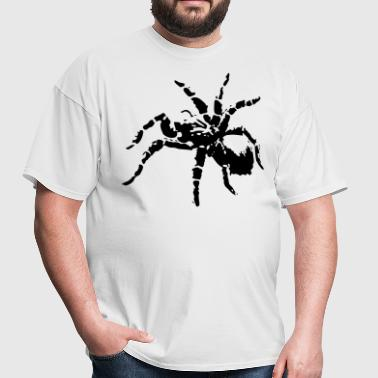 Threatened Spider (Silhouette) - Men's T-Shirt