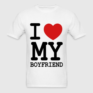 i_love_my_boyfriend - Men's T-Shirt