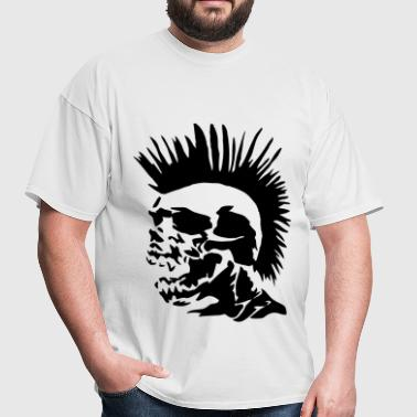 Skull Mohawk - Men's T-Shirt