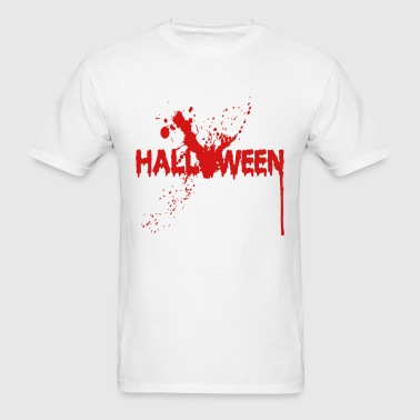 Halloween - Splatter - Blood - Massacre - Horror - Men's T-Shirt