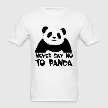 never_say_no_to_panda - Men's T-Shirt
