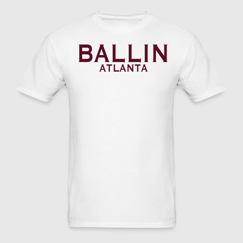BALLIN ATLANTA - Men's T-Shirt