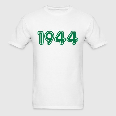 1944, Numbers, Year, Year Of Birth - Men's T-Shirt