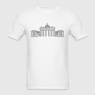 Brandenburg Gate Berlin - Men's T-Shirt