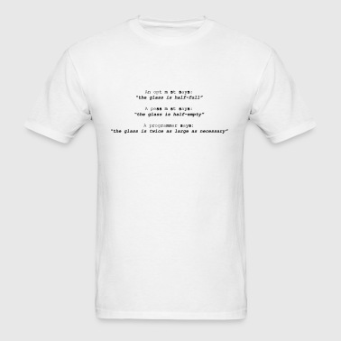 Optimist - Men's T-Shirt