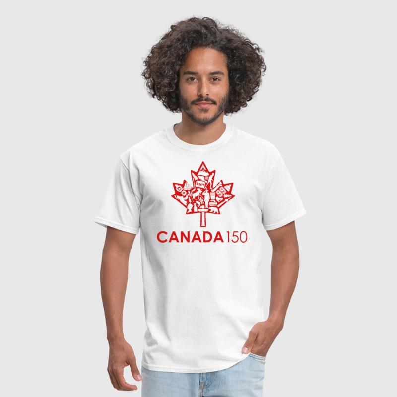 Canada 150 Womens - Red - Men's T-Shirt