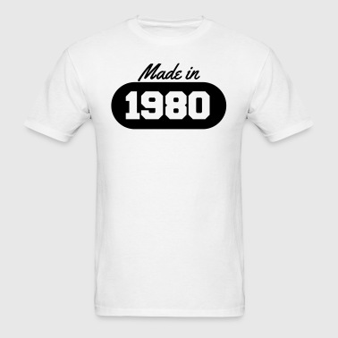 Made in 1980 - Men's T-Shirt