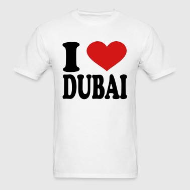 I Love Dubai - Men's T-Shirt