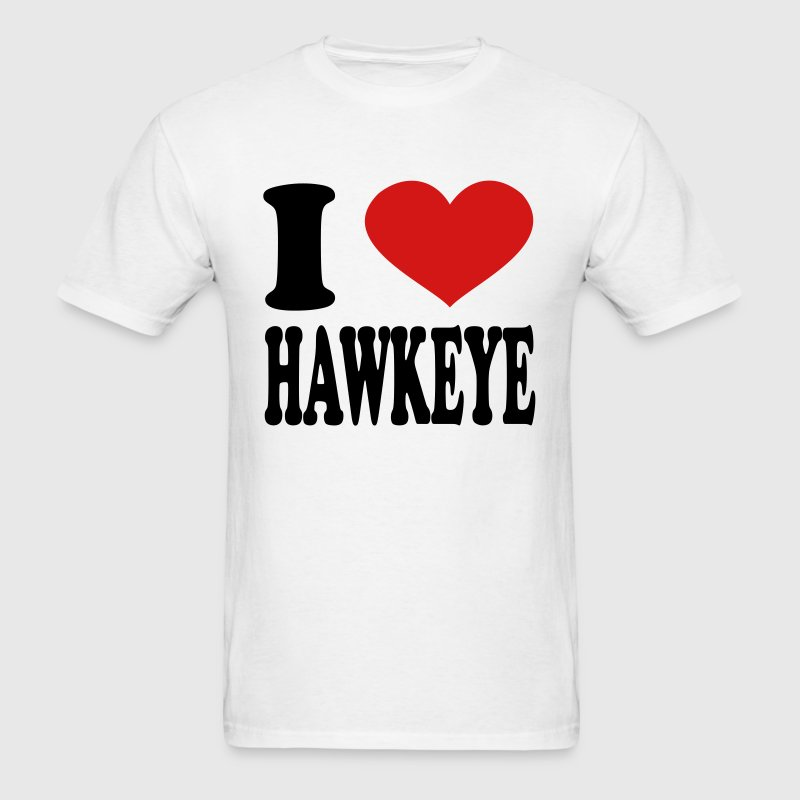 I Love Hawkeye - Men's T-Shirt