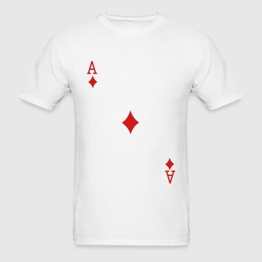 Ace of Diamonds - Men's T-Shirt