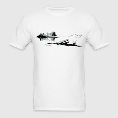 Pond - Men's T-Shirt