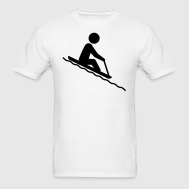 Toboggan Rider - Men's T-Shirt