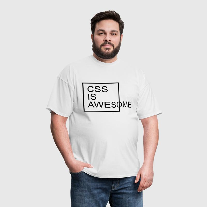 CSS Is Awesome  - Men's T-Shirt