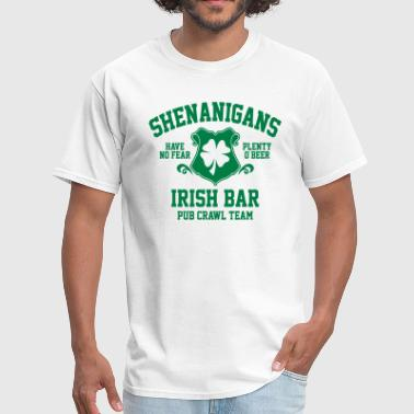 shenanigans irish pub crawl team - Men's T-Shirt