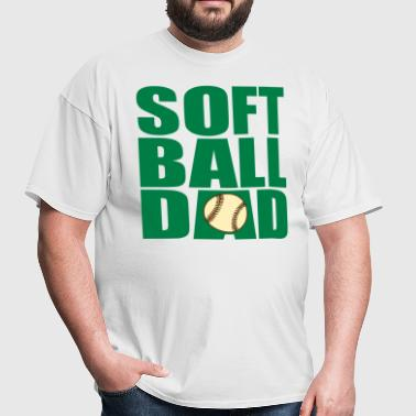 Softball Dad - Men's T-Shirt