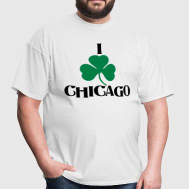 I Shamrock Irish Chicago - Men's T-Shirt