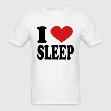 I Love sleep - Men's T-Shirt