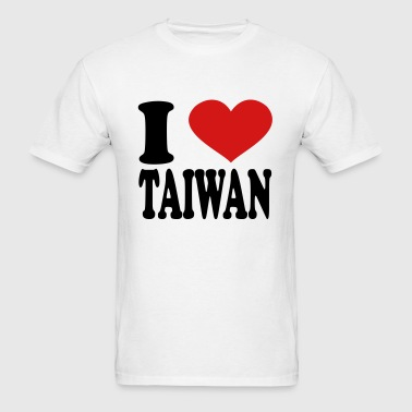 I Love Taiwan - Men's T-Shirt